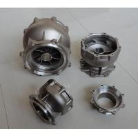 Investment casting discharge bowl