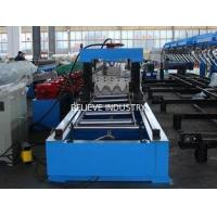 15m/min Servo Flying Cutoff Thrie Beam Highway Guardrail Roll Forming Machine