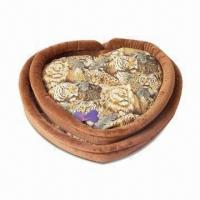 Buy cheap Fashionable Heart-shaped Design Pet Bed, Measuring 66 x 55 x 15cm from Wholesalers
